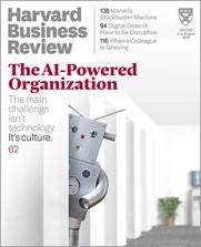 capa da Revista Harvard Business Review, julho-agosto de 2019