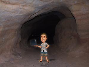 programadores e suas cavernas